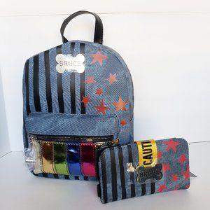 Handbags - Birds of Prey Harley Quinn Mini Backpack & Wallet